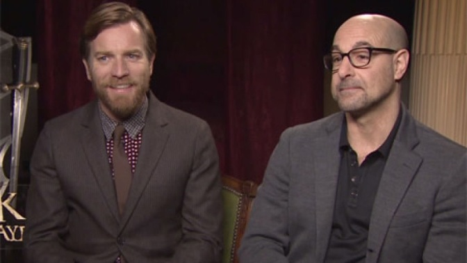 "Ewan McGregor, Stanley Tucci say ""Be our Guest"""