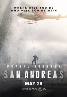 London to host San Andreas world premiere