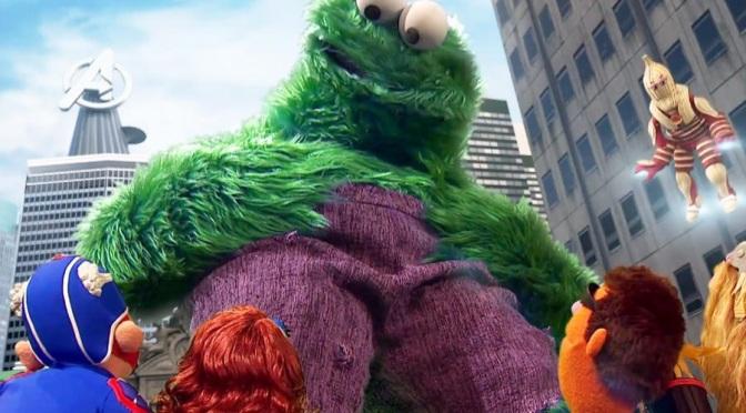 Sesame Street does…The Avengers