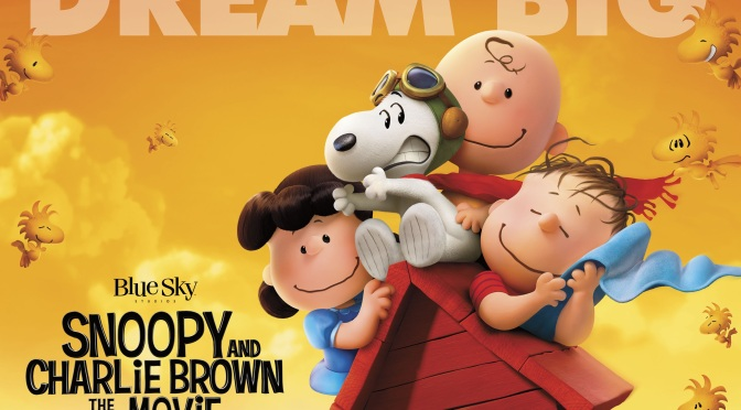 New Peanuts Movie poster and image