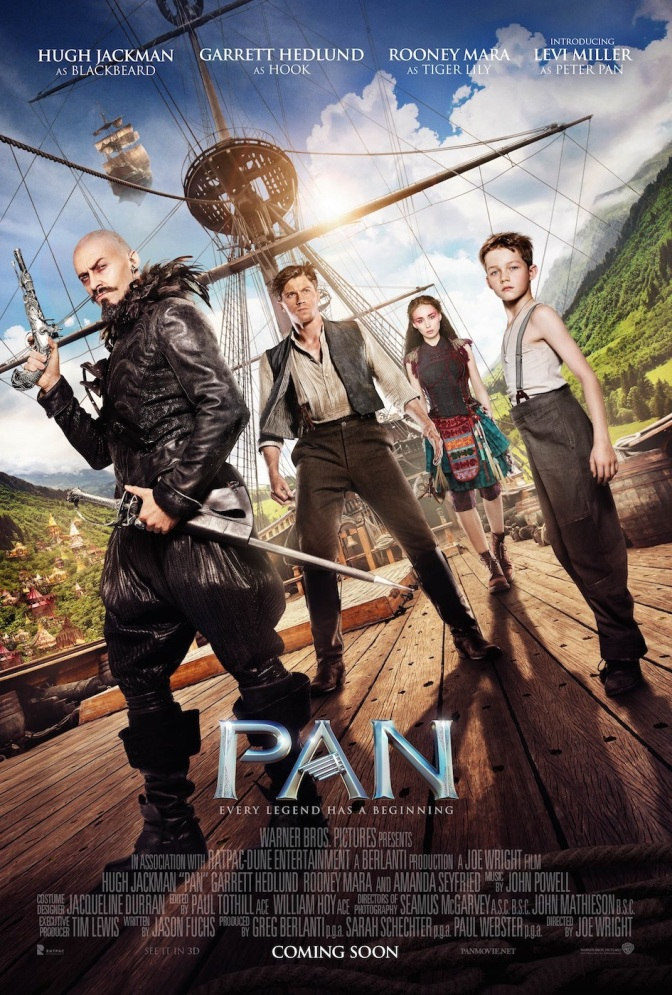 Pan – new trailer