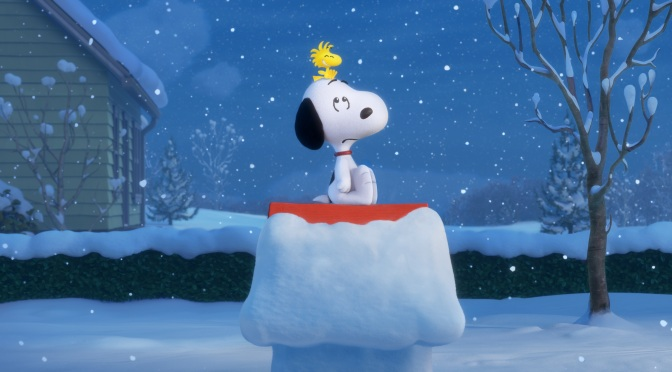 Snoopy's ready for Christmas