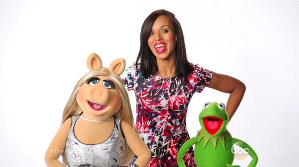 The Muppets promos feature celeb friends