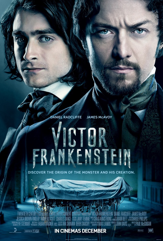 Victor Frankenstein – poster revealed