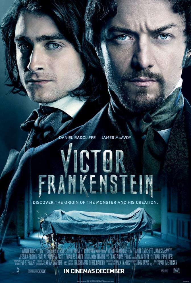 McAvoy and Radcliffe discuss Victor Frankenstein