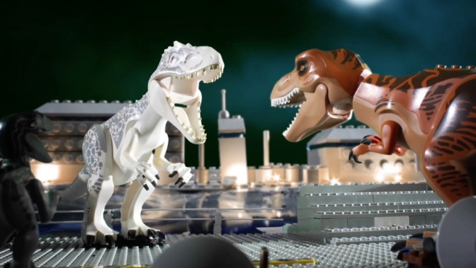 Jurassic World – in Lego!
