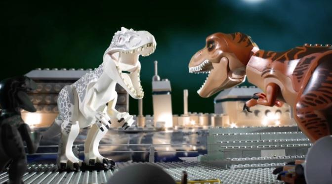 Jurassic World – in Lego!