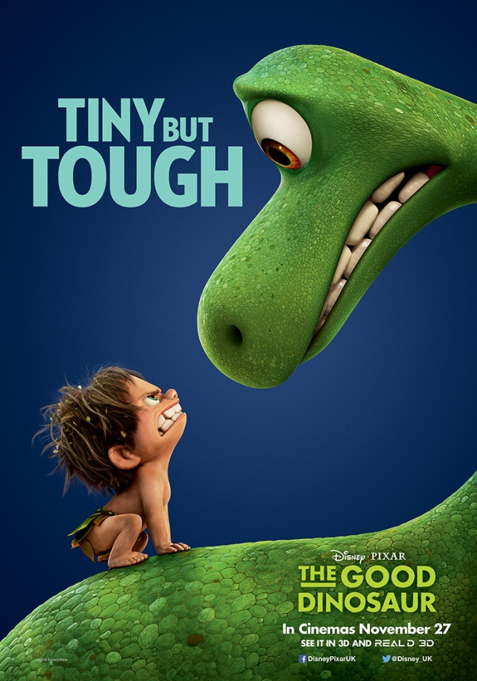 The Good Dinosaur – three new posters