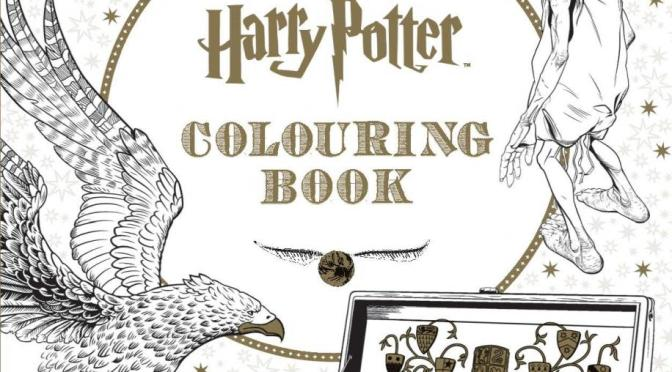Harry Potter colouring book to go on sale