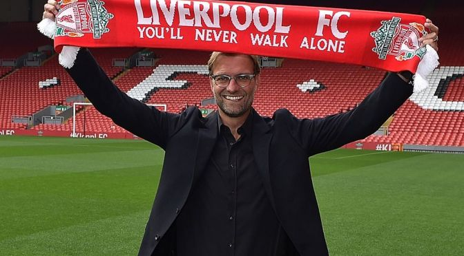 Jürgen Klopp biography on the way