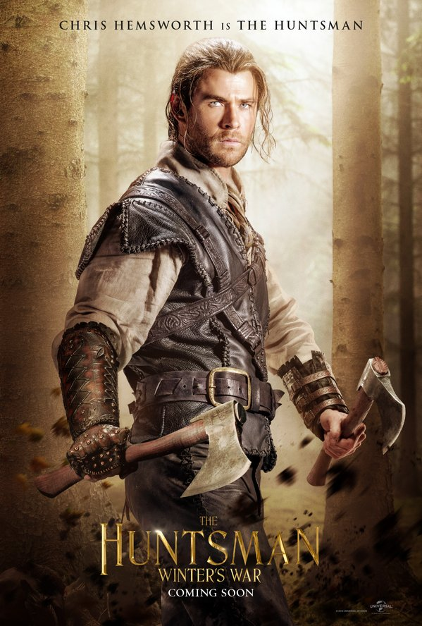 The Huntsman – new posters