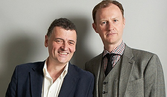 Meet Gatiss and Moffat