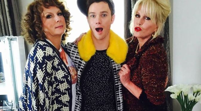 Glee star joins Ab Fab movie