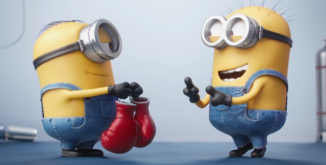 The Minions do Rocky (sort of)