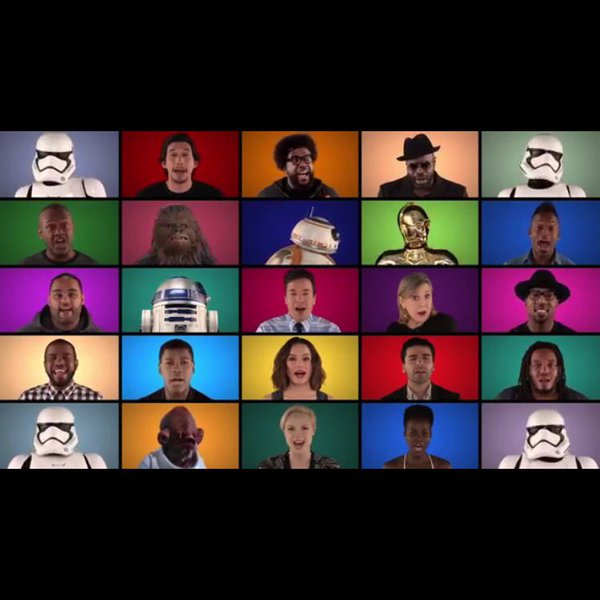 Jimmy Fallon and The Roots do Star Wars