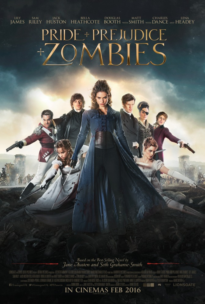 New Pride And Prejudice And Zombies TV ads and posters