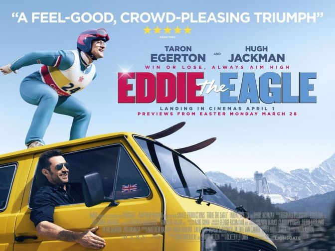 Eddie The Eagle – new poster and clip