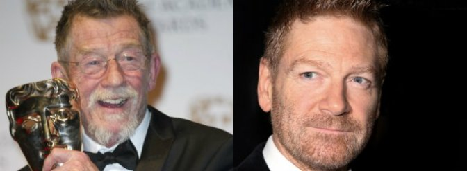 Hurt and Branagh to co-star on stage