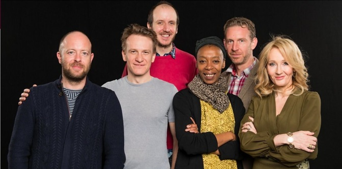 JK Rowling meets the Cursed Child cast
