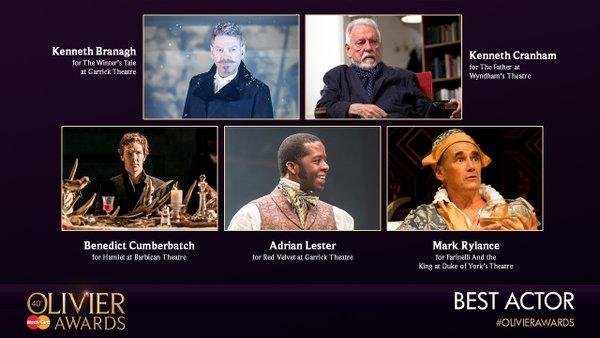 Olivier Awards reveal nominations