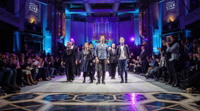 Actors take to the stage for Letters Live