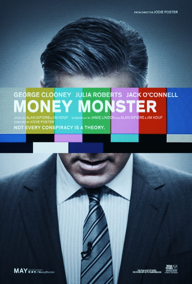 New Money Monster poster, and a trip to Cannes