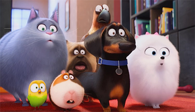 Do you know about The Secret Life of Pets?
