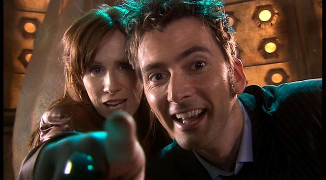 Tennant and Tate prepare for Doctor Who return
