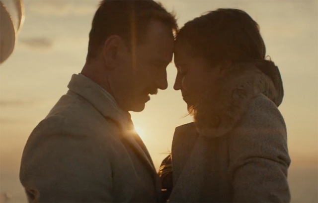 New Light Between Oceans trailer