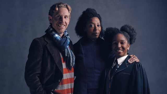 Go behind the scenes of the Cursed Child photoshoot