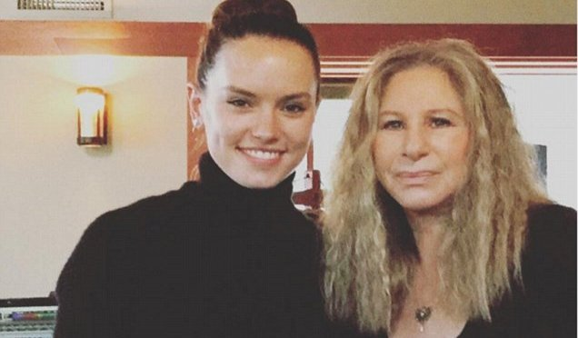 Streisand, Ridley and Hathaway are At The Ballet
