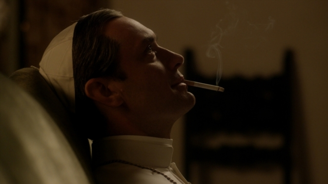 Jude Law is the Young Pope