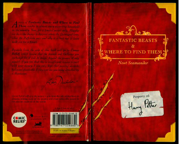 Newt Scamander's Fantastic Beasts to be re-released
