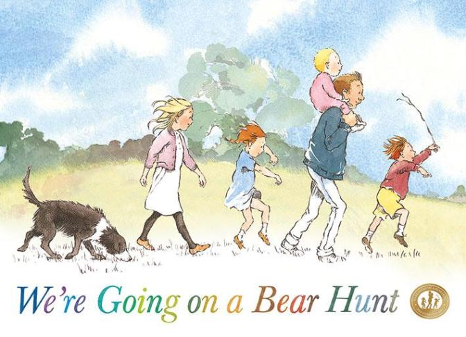Olivia Colman is Going on a Bear Hunt
