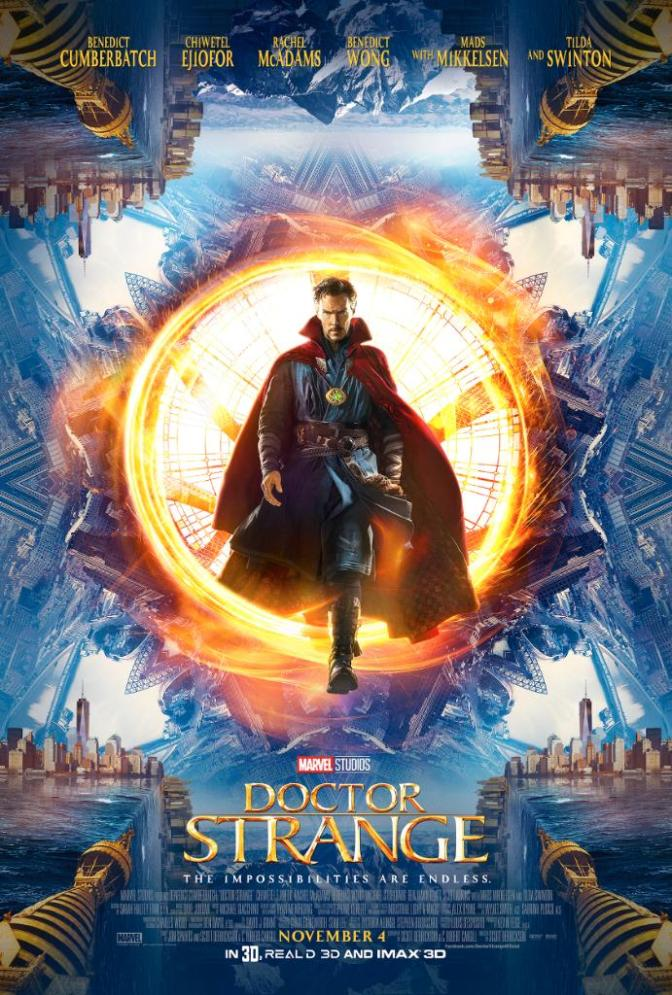 Doctor Strange – new trailer and poster