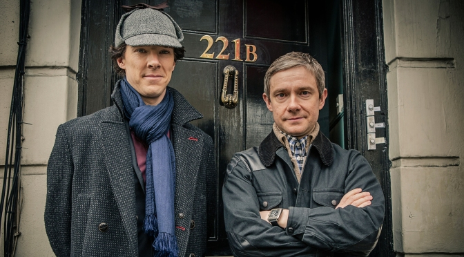 First official Sherlock season four image released