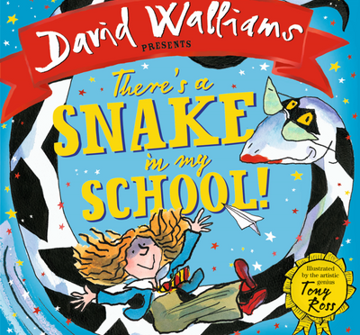 David Walliams pens There's a Snake in My School