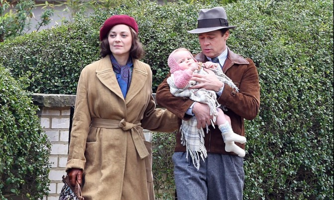 Pitt and Cotillard star in Allied