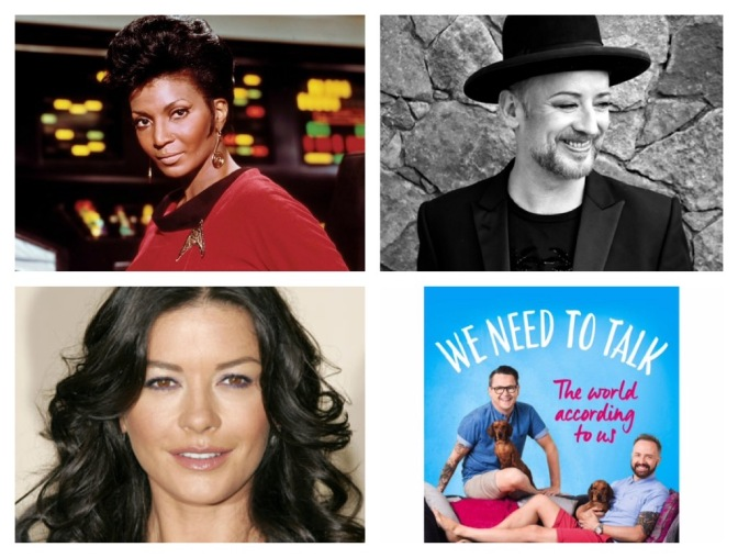 New podcast: Boy George, Catherine Zeta Jones, Kenneth Branagh