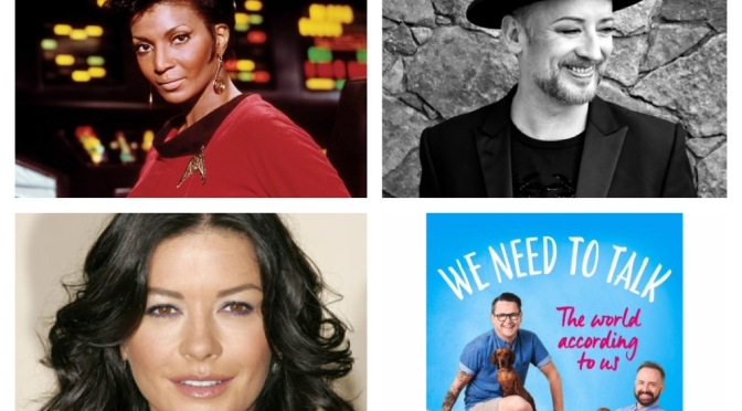 New podcast: Boy George, Catherine Zeta Jones, Kenneth Branagh