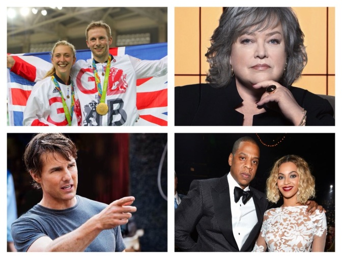 That's A Wrap! – Tom Cruise, Beyonce and Jay-Z, Olympians' books and more