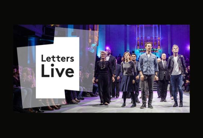 Letters Live – October 2016 performers