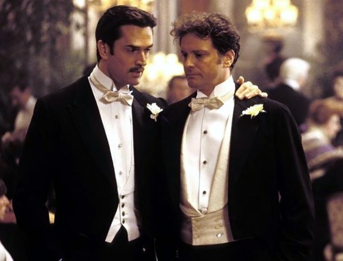 Everett, Firth, Morgan shoot The Happy Prince