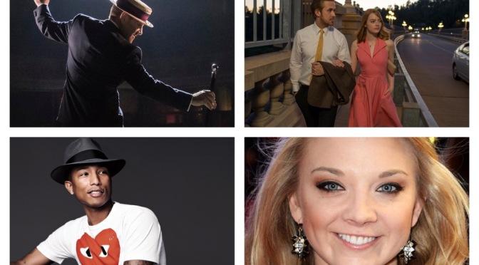 London Film Festival, Pharrell, Kate Bush, The Entertainer…