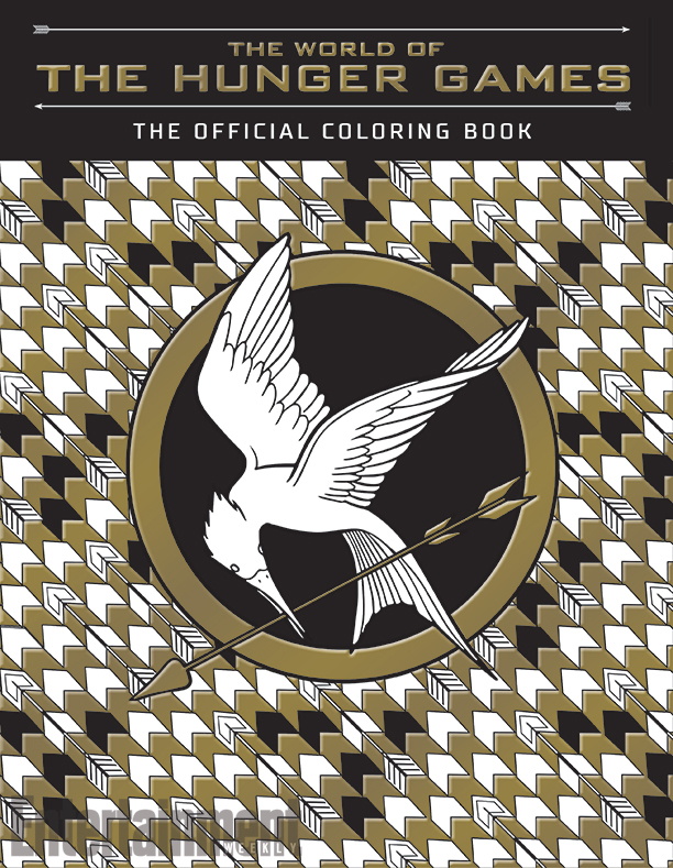 Now you can colour in Katniss