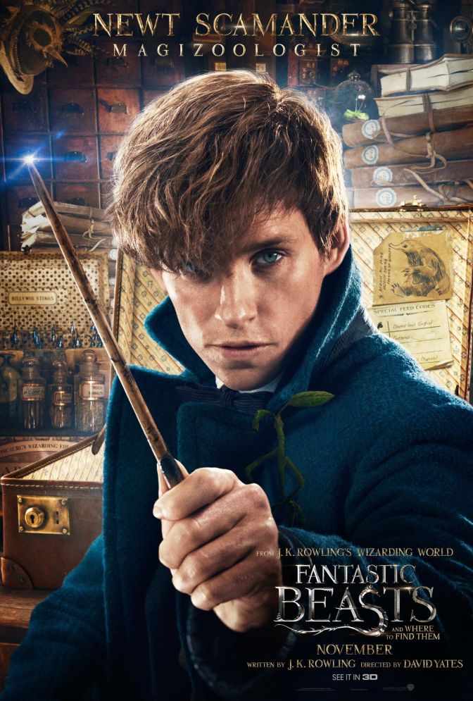 Eddie Redmayne records Fantastic Beasts audiobook