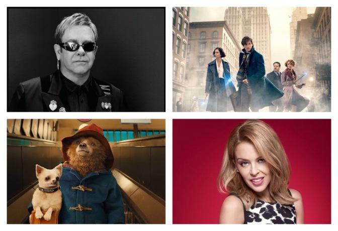 That's A Wrap: Kylie Minogue, Fantastic Beasts, Paddington 2