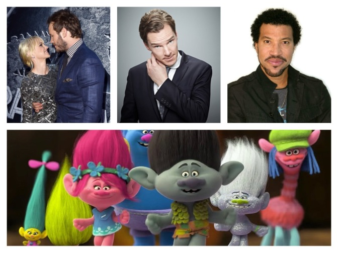 That's A Wrap: The Jackson Five, Benedict Cumberbatch, Trolls