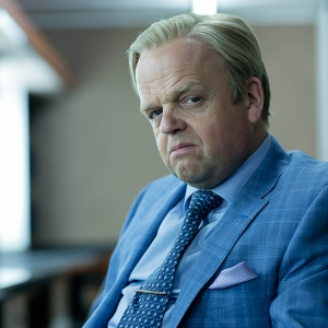Sherlock, Season 4 premieres January 1, 2017 on MASTERPIECE on PBS. Picture shows: Culverton Smith (TOBY JONES)