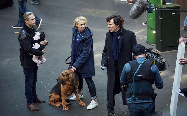 Sherlock – new images